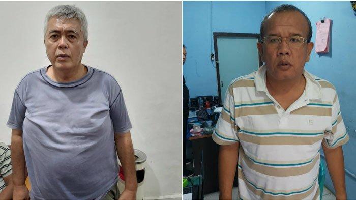 Dua eks anggota DPRD Pematangsiantar, Rudolf Hutabarat dan Eliakim Simanjuntak ditetapkan sebagai tersangka kasus judi togel.