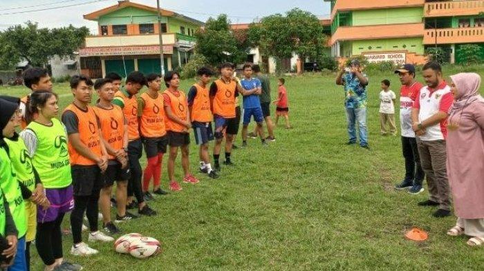 Cetak Sejarah, untuk Pertama Kalinya Atlet Rugby Gelar Latihan Perdana
