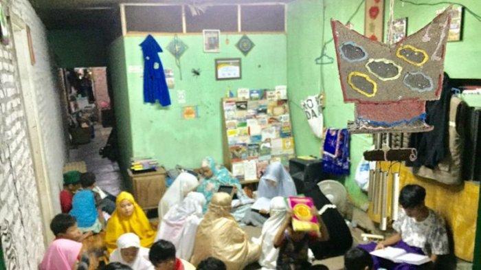 Rumah Baca Rambutan Jadi Wadah Anak Menempa Ilmu Mengaji Selama Ramadan