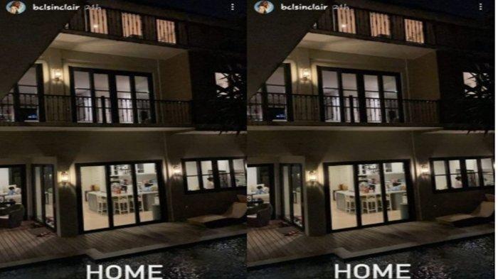 Rumah BCL malam hari