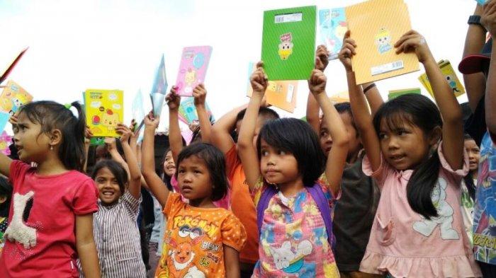 SALUT! Ini yang Dilakukan Sopo Palito Untuk Tingkatkan Minat Baca Anak-anak di Pedesaan