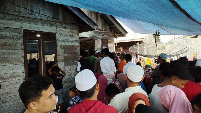 Jenazah TKI Asal Asahan yang Dibunuh di Malaysia Disambut Ratusan Warga
