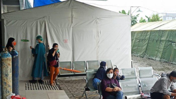 Rumah Sakit Hermina Bangun Tenda Darurat, Antisipasi Lonjakan Pasien Covid-19