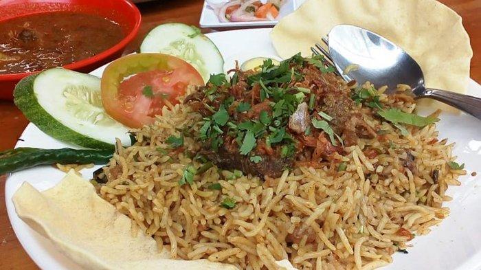 Nasi Biryani yang Nikmat plus tanpa penyedap di Rumah Sharaswaty.