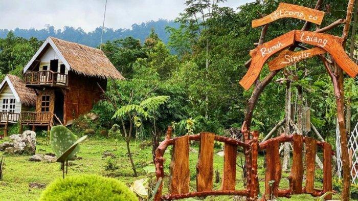 Rumah Ladang Simelir, Sensasi Berwisata Sembari Kemping dan Menginap di Rumah Pohon