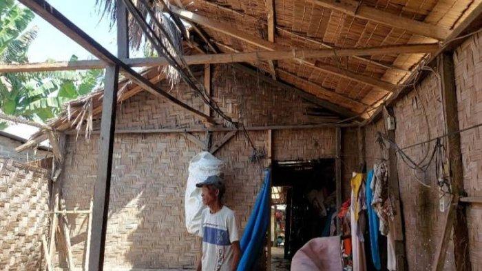Bupati Sergai Harus Lihat, Ada Rumah Warga yang Nyaris Roboh Atap dan Dinding Jebol