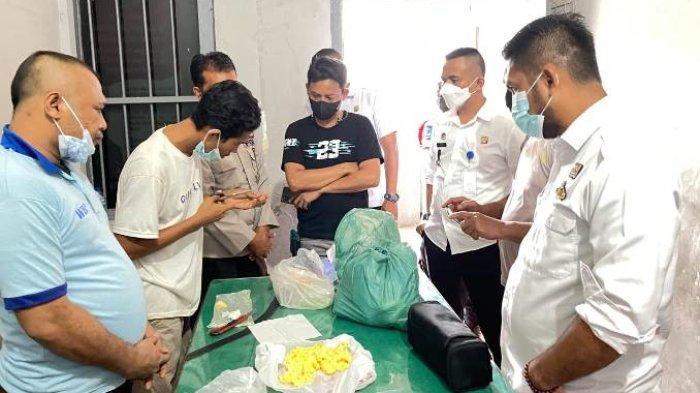 Pengunjung Rutan Tanjungpura Selundupkan Sabu di Tapai, Gagal Masuk Keburu Ditangkap