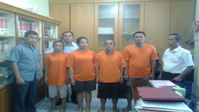 Polisi Gerebek Kampung Kubur, 2Pasangan Bukan Suami IsteriDicokok Lagi Pesta Narkoba