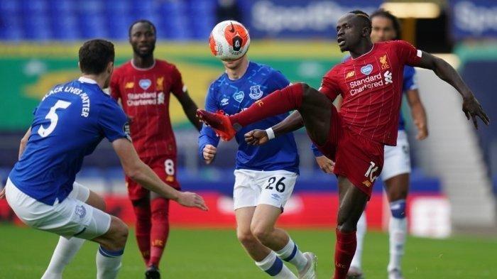 Liverpool Vs Everton Malam Ini, Tak Disiarkan NET TV, Live Mola TV, Menanti Gol Keramat Mane