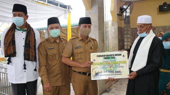 Safari Ramadan, Bobby Nasution Ingin Masjid di Kota Medan Dijadikan Masjid yang Mandiri