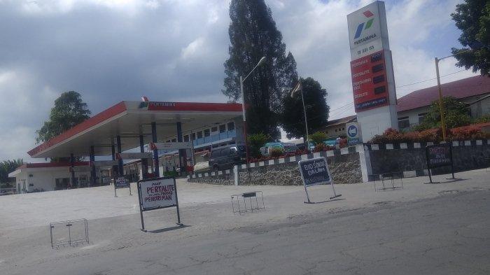 BBM di Sejumlah SPBU Tanah Karo Langka