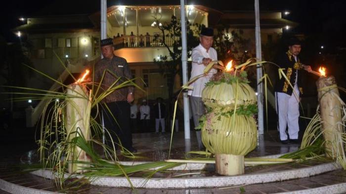 Sambut Lailatul Qadar dengan Tradisi Ela-ela di Kesultanan Ternate