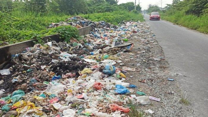 Pak Bupati, Sampah Menumpuk di Kawasan Deliserdang Ini Bikin Mual dan Muntah