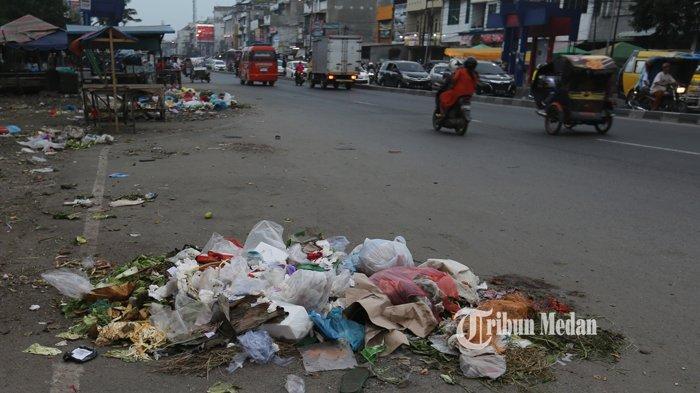 BERITA FOTO Sampah Menumpuk dan Berserakan di Pasar Kampung Lalang Medan - sampah-pasar-kampung-lalang-2.jpg