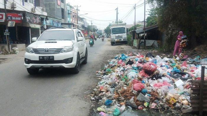 TPA Tadukan Raga Ditutup, Banyak Tumpukan Sampah di Tanjungmorawa