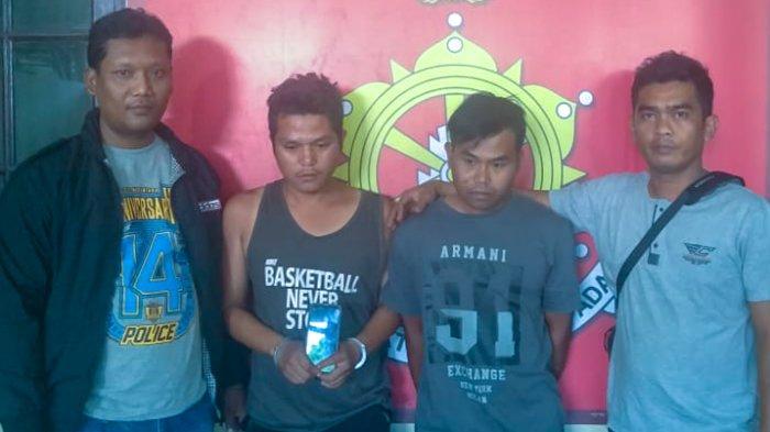Nekat Curi Ponsel di Depan Kantor Koramil, Dua Pemuda Pengangguran Ditangkap Polisi