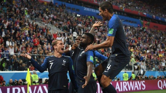 Menuju Juara Dunia 2018, Kemenangan Prancis Mirip Duel Semifinal Piala Dunia 1998