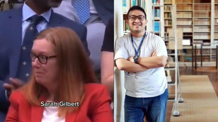 Profesor Sarah Gilbert dan ilmuwan Indonesia, Indra Rudiansyah