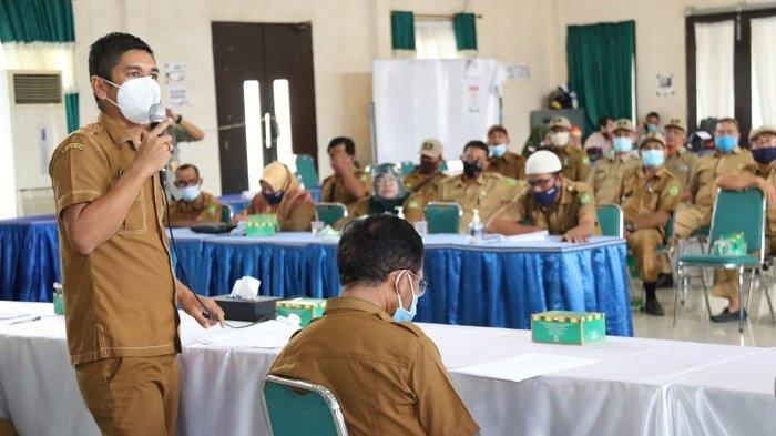 Satgas Covid-19 Kota Medan Bimbing 40 Kepling untuk Sosialisasikan Protokol Kesehatan