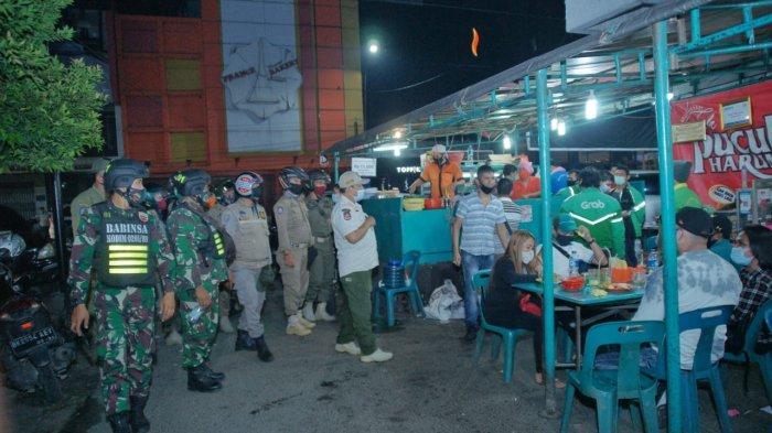 Malam Jelang Tahun Baru, Satgas Covid-19 Medan Masih Temukan Tempat Usaha Langgar Jam Operasional