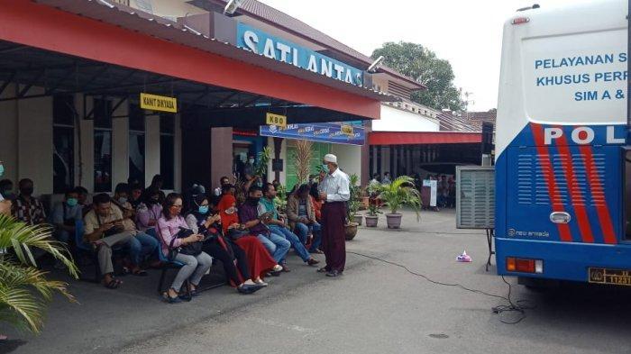 Layanan SIM Tetap Buka, Satpas Adinegoro Medan Batasi Jam Operasional