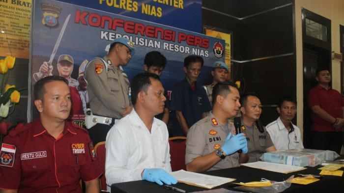 Oknum Kades Ditangkap, Polisi Temukan Sabu yang Disembunyikan dalam Laci Meja