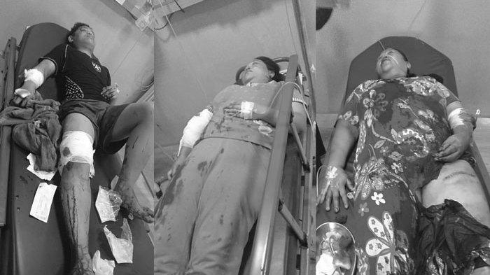 Satu Keluarga di Medan Dibacok Membabi Buta, Tiga Orang Korban Dilarikan Ke RS Haji