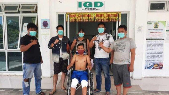 Tersangka Ke-5 Pembunuh Raja Adat Samosir Rianto Simbolon Akhirnya Ditangkap, Kedua Kaki Ditembak