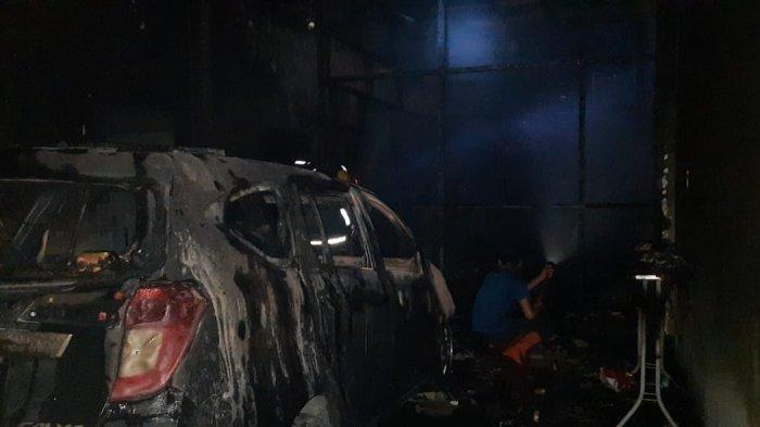 Kebakaran Lahap Satu Rumah Di Jalan Taduan, Seorang Lansia Meninggal Dunia
