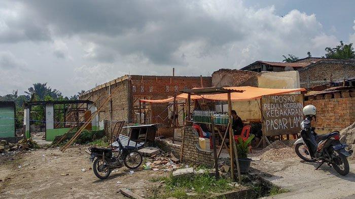 Sebulan Kasus Kebakaran Pasar Lama Sidikalang Berlalu, Terduga Pelaku belum Tertangkap