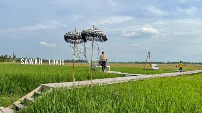 Sawah Lukis, Lokasi Wisata Di Kota Binjai yang Terinspirasi dari Jepang