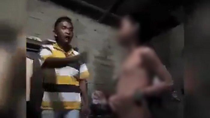 Petugas Polres Sibolga Amankan Pria yang Diduga Lakukan Kekerasan Terhadap Anaknya
