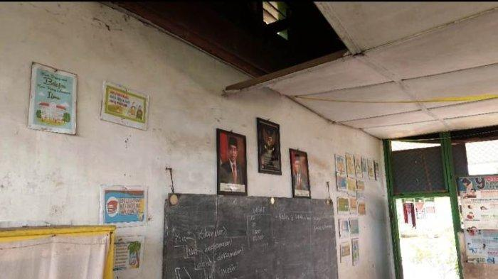Asbes SDN di Sei Bamban Hampir Runtuh dan Kursi Dimakan Rayap, Ini Harapan Guru Sebelum Pensiun!