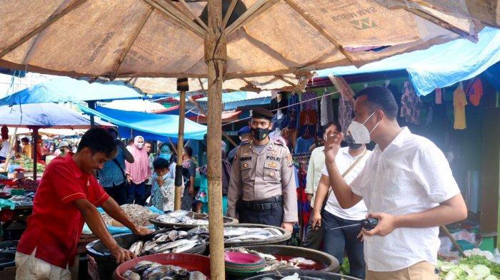 Patroli Prokes, Masih Ada Pedagang Pasar Abai Protokol Kesehatan