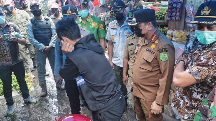 Patroli Prokes dan Pengawasan PPKM Mikro Berlanjut di Kecamatan Medan Belawan