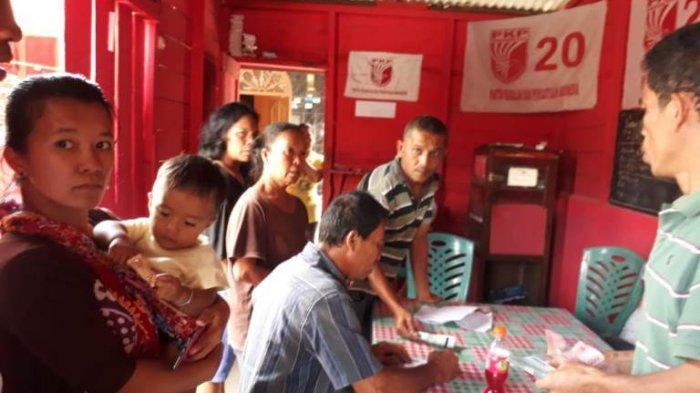 Caleg Tersinggung Perolehan Suaranya Jeblok, Masyarakat Desa Sitompul Ramai-ramai Pulangkan Uang