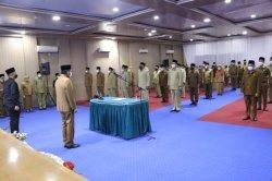 Buang Pejabat di Masa HM Idaham, Amir Hamzah Kembali Lantik Pejabat Eselon