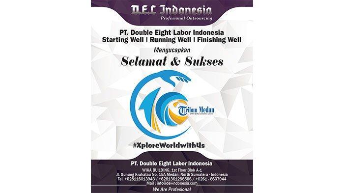 Selamat Ulang Tahun ke-10 Tribun Medan dari DEL Indonesia