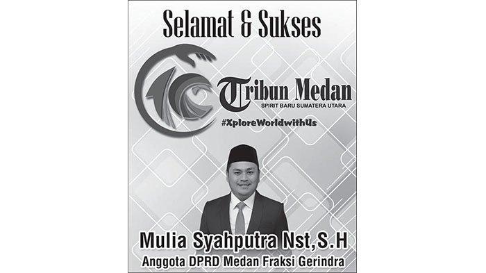 Selamat Ulang Tahun ke-10 Tribun Medan dari Mulia Syahputra Nasution