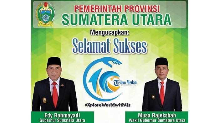 Selamat Ulang Tahun ke-10 Tribun Medan dari Pemerintah Provinsi Sumatera Utara