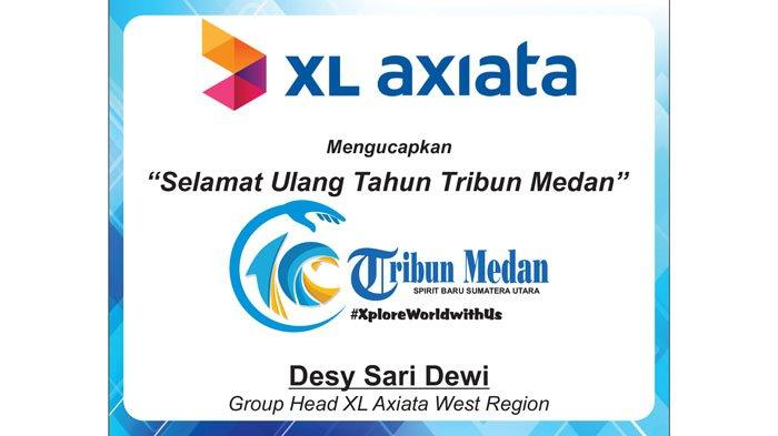 Selamat Ulang Tahun ke-10 Tribun Medan dari XL Axiata