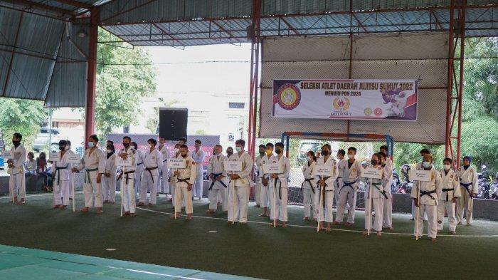 PBJI Sumut dan KONI Sumut Gelar Selekda Jujitsu Jelang PON Aceh-Sumut 2024
