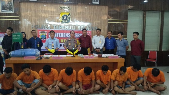 Sembilan Pemain Judi Ditangkap Polisi, Mulai Judi Joker, Dadu hingga Togel