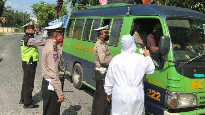 25 Siswa PKL asal Sidikalang yang Pulang dari Medan Dicekal Masuk Dairi