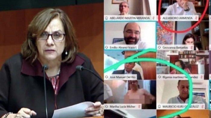 VIRAL Istri Politikus Ini Telanjang di Belakang Suaminya yang Tengah Rapat Online via Zoom