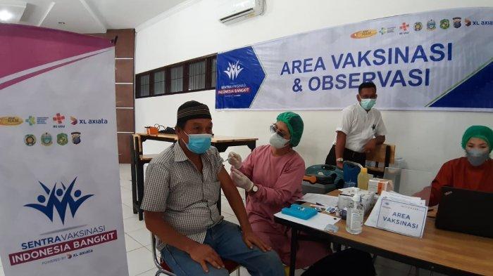 1000 Dosis Vaksin Covid-19 di Medan Johor Diprioritaskan Untuk Lansia