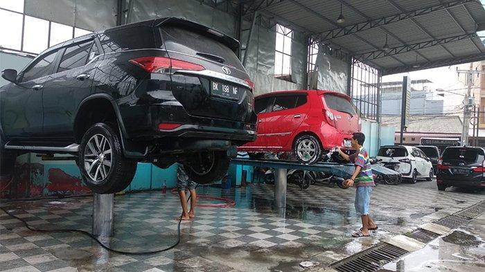 Diskon Cuci Mobil untuk TFC di Pinto Carwash
