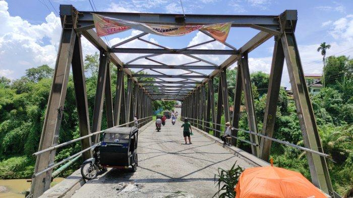 Jembatan Rusak Jadi Lahan Pungli, Camat Pancur Batu: Sudah Saya Palang, Dibuka Lagi