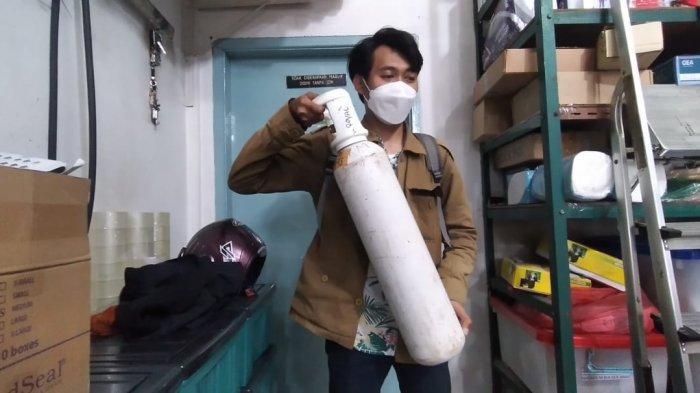 Stok Tabung Oksigen di Medan Masih Aman, Berbanding Lurus dengan Tingkat BOR di Rumah Sakit