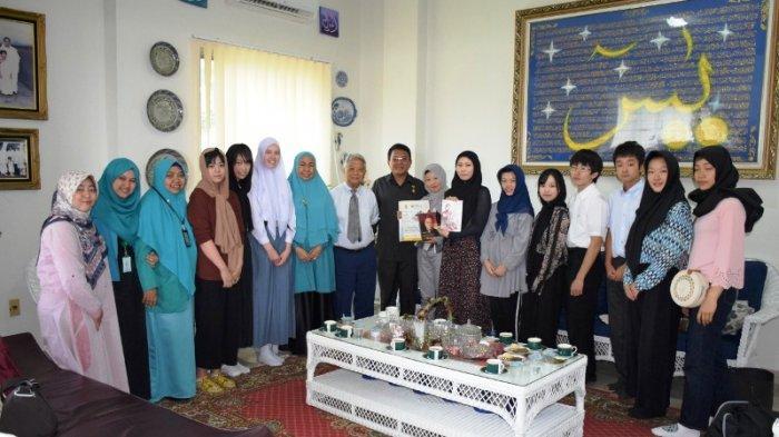 Sepuluh Pelajar Ichikawa Jepang dari Program Sister City Kunjungi YPSA